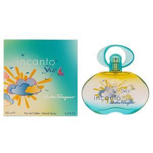フェラガモ インカント スカイ オーデトワレ スプレータイプ 100ml SALVATORE FERRAGAMO (8%offクーポン 4/3 12:00〜4/20 1:00) 香水 INCANTO SKY|beautyfive
