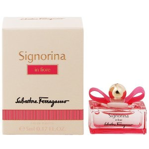 フェラガモ シニョリーナ イン フィオーレ ミニ香水 オーデトワレ ボトルタイプ 5ml SALVATORE FERRAGAMO 香水 SIGNORINA IN FIORE EAU DE TOILETT beautyfive