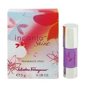 フェラガモ インカント シャイン フレグランススティック 5g SALVATORE FERRAGAMO 香水 INCANTO SHINE FRAGRANCE STICK|beautyfive