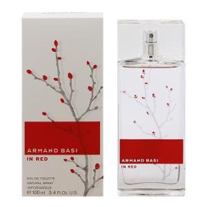 香水 フレグランス ARMAND BASI アルマンド バジ インレッド オードトワレ スプレータイプ 100ml IN RED