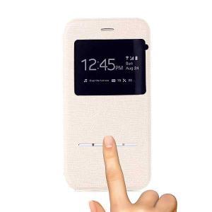 iPhone 6s / iPhone 6 iPhone6s ケース / iPhone6 ケース 4.7 inch 手帳型/横開き ビューウィンドウ レザーケースカバー スタンド機能付き ベージュ|beautyfive