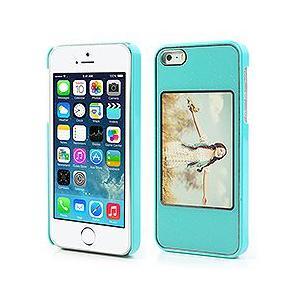 iPhoneSE / iPhone5s iPhone SE iPhone 5s フォトフレームのデザイン ハードケース ブルー  iPhone5/iPhone 5s Hard Cases|beautyfive