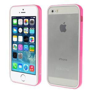 iPhoneSE / iPhone5s iPhone SE iPhone 5s 軽量ハイブリッドバンパーケース ホワイト ローズ  iPhone 5s 5 Bumper Cases|beautyfive