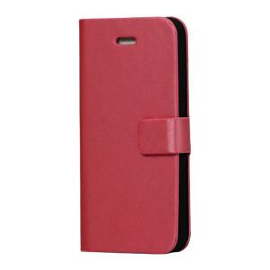 iPhoneSE / iPhone5s iPhone SE iPhone 5s ウォレットフリップレザーケース スタンド機能付き ピンク  iPhone 5s 5 Leather Case|beautyfive