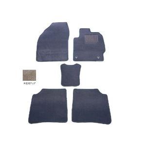 天野 エルグランド 型式:E51 (8人乗り) 年式:H14〜16 フロアマット一式 スクエア [カラー:グレー] AMANO (8%offクーポン 4/3 12:00〜4/20 1:00)|beautyfive