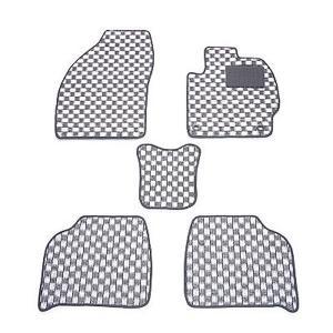 天野 シーマ 型式:F50 年式:H13〜22 チェック [カラー:ブラック×ホワイト] AMANO (8%offクーポン 4/3 12:00〜4/20 1:00)|beautyfive