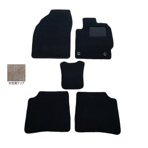 天野 インプレッサ XV 年式:H24〜 フロアマット一式 スクエア [カラー:ブラック] AMANO (8%offクーポン 4/3 12:00〜4/20 1:00)|beautyfive