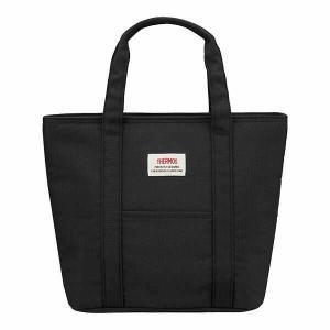 サーモス 保冷ランチバッグ [容量:約7L] [カラー:ブラック] #REW-007-BK THERMOS|beautyfive