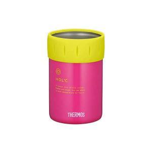 サーモス 保冷缶ホルダー 350ml缶用 [カラー:ピンク] #JCB-351-P THERMOS|beautyfive