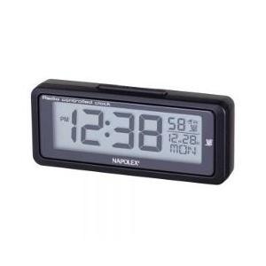 (500円OFFクーポン 9/30 23:00まで)ナポレックス 車用電波時計 #Fizz-940 NAPOLEX|beautyfive