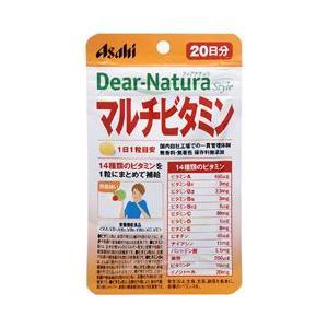 アサヒフードアンドヘルスケア ディアナチュラスタイル マルチビタミン 20粒 ASAHI FOOD&HEALTHCARE|beautyfive