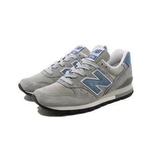 ニューバランス M996ABC [カラー:グレー×ライトブルー] [サイズ:28cm (US10) Dワイズ] NEW BALANCE New Balance M996|beautyfive