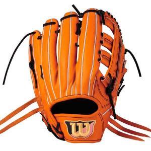 (左投げ用)ウィルソンスタッフ DUAL 外野手用 一般硬式野球グラブ(左投げ) [カラー:Eオレンジ] [サイズ:12] #WTAHWED8DR-22 WILSON|beautyfive