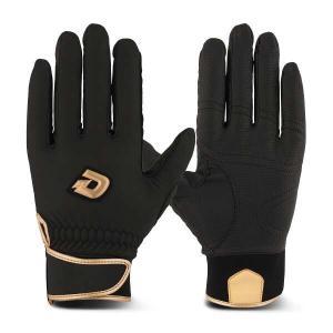 ウィルソン ディマリニ GRITE 冬用バッティンググローブ(両手組) [サイズ:M] [カラー:ブラック×ゴールド] #WTABG0901 WILSON|beautyfive