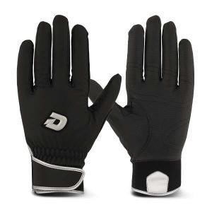 ウィルソン ディマリニ GRITE 冬用バッティンググローブ(両手組) [サイズ:L] [カラー:ブラック×シルバー] #WTABG0902 WILSON|beautyfive
