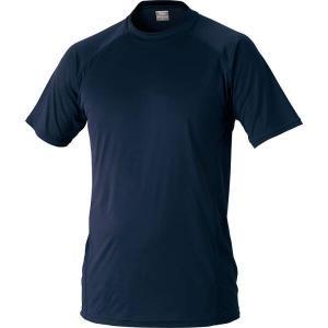 ゼット 野球用 ハイブリッドアンダーシャツ ローネック半袖 [カラー:ネイビー] [サイズ:S] #BO1710-2900 ZETT|beautyfive