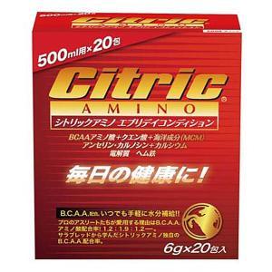 (500円OFFクーポン 5/31 23:00まで)シトリックアミノ エブリデイコンディション #8157 6g×20包入り CITRIC AMINO