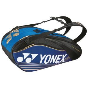 (500円OFFクーポン 10/31 23:00まで)ヨネックス ラケットバッグ6(リュック付) テニスラケット6本用 BAG1602R [カラー:ブルー] #BAG1602R-002 YONEX|beautyfive