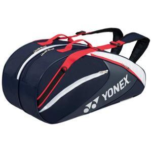(500円OFFクーポン 11/30 23:00まで)ヨネックス ラケットバッグ6(リュック付) テニスラケット6本用 BAG1732R [カラー:ネイビーブルー] #BAG1732R-019 YONEX beautyfive