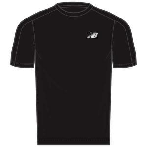 ニューバランス ベーシックラン ショートスリーブTシャツ [サイズ:L] [カラー:ブラック] #MT93917-BK NEW BALANCE|beautyfive
