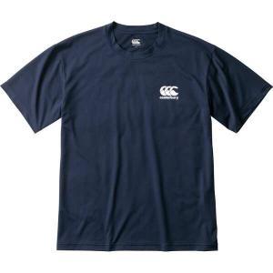 カンタベリー フレックスクール Tシャツ(メンズ) [サイズ:L] [カラー:ネイビー] #RA39132-29 CANTERBURY FLEXCOOL T-SHIRT|beautyfive