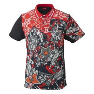 ニッタク 卓球ゲームシャツ ミラボシャツ [サイズ:M] [カラー:レッド] #NW-2184-20 NITTAKU MIRABO SHIRT|beautyfive