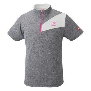 ニッタク 卓球ゲームシャツ ウォーミーシャツ [サイズ:M] [カラー:ピンク] #NW-2186-21 NITTAKU WARMY SHIRT|beautyfive