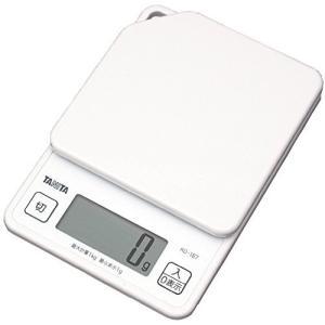 タニタ キッチンスケール はかり 料理 デジタル 1kg 1g単位 ホワイト KD-187 WH|beautyh