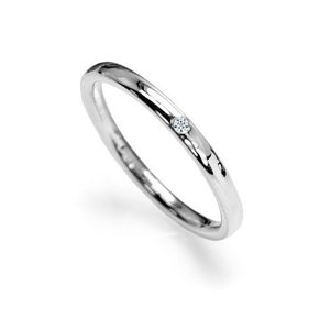 ダイヤモンド入りサージカルステンレスリングレディース 指輪 7号8号9号10号11号12号13号14号15号 シルバー(11)|beautyh