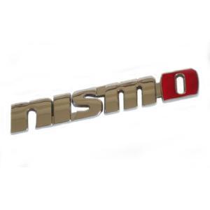 nismo ニスモ メタル エンブレム 金属 製 立体 ステッカー 両面テープ 付 日産|beautyh