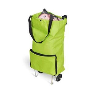軽量 大容量 エコバッグ 折りたたみショッピングキャリー 2輪キャスター付き バッグ カート|beautyh
