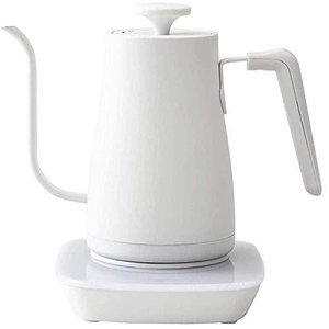 [山善] 電気ケトル 電気ポット 0.8L (温度設定機能/保温機能/空焚き防止機能) ホワイト Y...