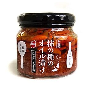 阿部幸製菓 新潟 柿の種のオイル漬け にんにくラー油 160g beautyh