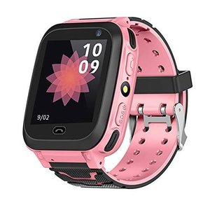 TOPINCN キッズスマートウォッチ 子供用 見守りウォッチ GPS付き SOS機能 位置確認 腕時計 通話サポート キッズトラッカー 電話 懐中電|beautyh