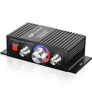 Bluetooth パワーアンプ TTMOW 高音質 高出力 Bluetooth対応 オーディオアンプ 重低音 Hi-Fiステレオデジタルアンプ 30|beautyh