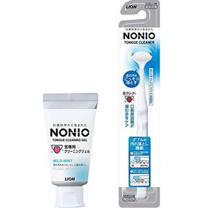 NONIO(ノニオ) 舌クリーナー+舌専用クリーニングジェル 舌クリーナー+ジェル|beautyh