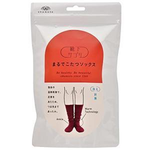 [オカモト] 靴下サプリ まるでこたつソックス 632-995 レディース ワインレッド 日本 23-25 (日本サイズM-L相当)|beautyh