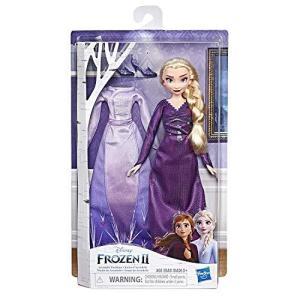 Disney(ディズニー) アナと雪の女王2 エルサ 新ドレス 着せ替え ファッションドール 新衣装人形 アナ雪 Frozen2 日本未発売 [並行輸|beautyh