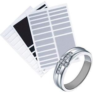 Prestigious(プレステージアス) リングテープ リングストッパー リングアジャスター テープ 3色セット(グレー・ホワイト・ブラック) 指輪|beautyh
