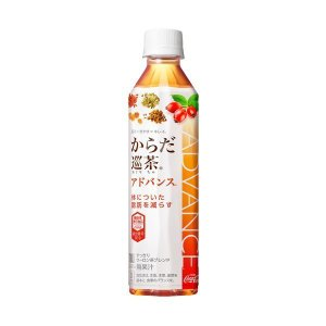 からだ巡茶 Advance 410mlPET×24本 コカ・コーラ直送商品以外と 同梱不可 【D】【サイズE】【TIME】【stm】 beautyhair