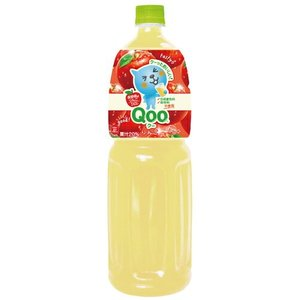 ミニッツメイド Qoo(クー) りんご 1500mlPET×8本 コカ・コーラ直送商品以外と 同梱不可 【D】【サイズE】|beautyhair