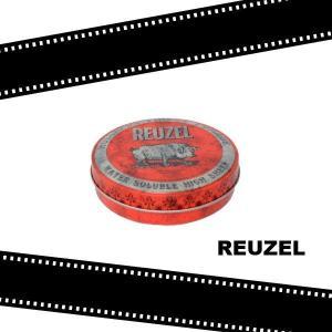 REUZEL ルーゾーポマード ソフト (レッド)  4oz.-114g (水溶性 ソフト)(定形外送料無料) beautyhair