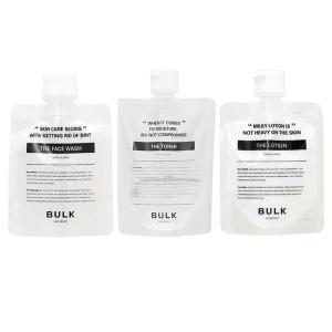 (バルクオム3点セット) バルクオム ザ・フェイスウォッシュ (洗顔料)& トナー(化粧水)&ローション(乳液)(送料無料)