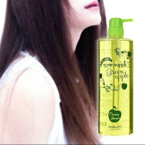 サニープレイス ナノサプリ クレンジングシャンプー 1000ml ボトル グリーンアップル|beautyhair