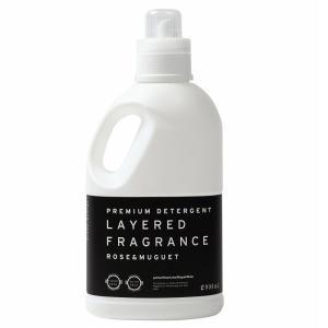 LAYERED FRAGRANCE レイヤードフレグランス ファブリックソフトナー 1000ml (柔軟剤) ローズアンドミュゲ  正規取扱店|beautyhair