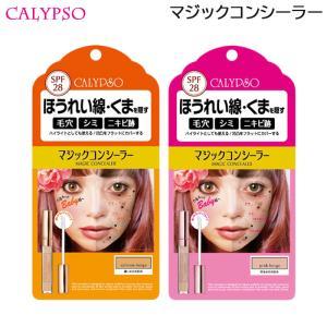 (セット)カリプソ マジックコンシーラー サーモンベージュ& マジックコンシーラー ピンクベージュ (定形外送料無料) コンシーラー 濃い目のお肌用 6g|beautyhair