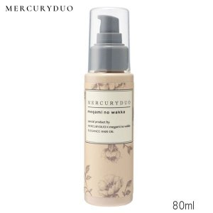 MERCURYDUO × megami no wakka  エレガンスヘアオイル(センシュアルエレガンスの香り) 80ml|beautyhair