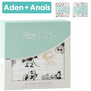 エイデンアンドアネイ/Aden+Anais ブランケット ミッキーコラボ クラッシックストローラー|beautyholic