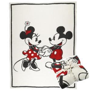 ベアフットドリームス ディズニー  ブランケット ミッキーマウス ミニーマウス ブランケット DISNEY Mickey & Minnie ブランケット 毛布 秋冬 ギフト|beautyholic