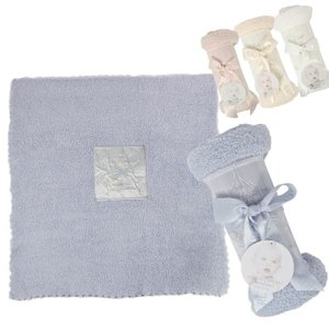 ベアフットドリームス ベビー ブランケット Barefoot Dreams  Blanket  コージシック レシービング ブランケット 出産祝い|beautyholic